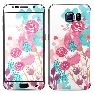 Samsung Galaxy S6 Skin - Blush Blossoms