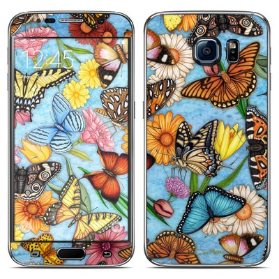 Samsung Galaxy S6 Skin - Butterfly Land