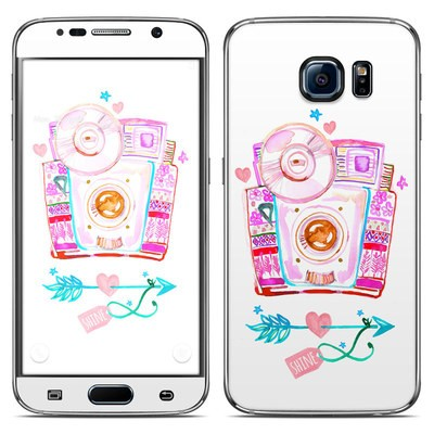Samsung Galaxy S6 Skin - Camera Shine