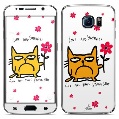 Samsung Galaxy S6 Skin - Catwad Happy