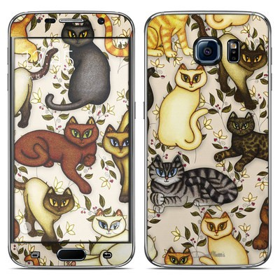 Samsung Galaxy S6 Skin - Cats