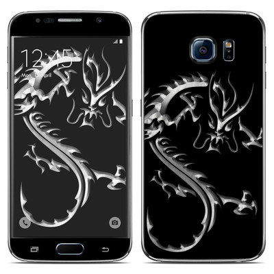 Samsung Galaxy S6 Skin - Chrome Dragon