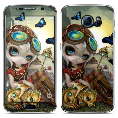Samsung Galaxy S6 Skin - Clockwork Dragonling