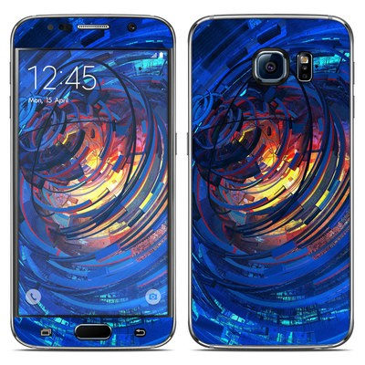 Samsung Galaxy S6 Skin - Clockwork