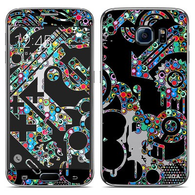 Samsung Galaxy S6 Skin - Circle Madness