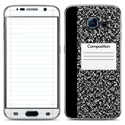 Samsung Galaxy S6 Skin - Composition Notebook
