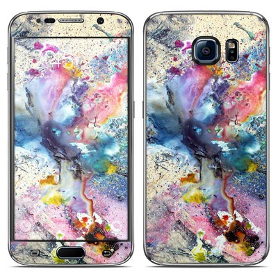 Samsung Galaxy S6 Skin - Cosmic Flower