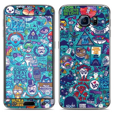 Samsung Galaxy S6 Skin - Cosmic Ray