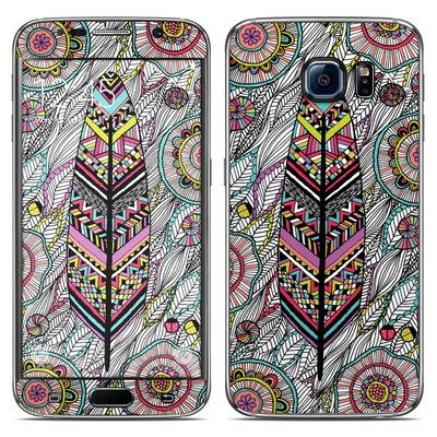 Samsung Galaxy S6 Skin - Dream Feather