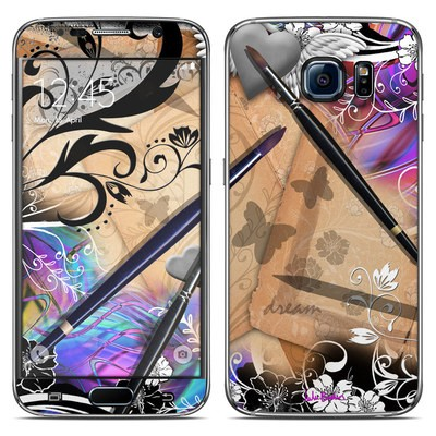 Samsung Galaxy S6 Skin - Dream Flowers