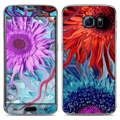 Samsung Galaxy S6 Skin - Deep Water Daisy Dance