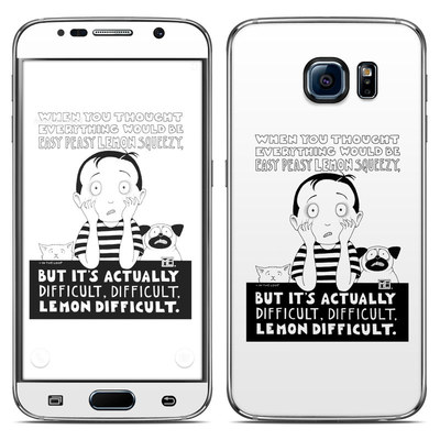 Samsung Galaxy S6 Skin - Easy Peasy