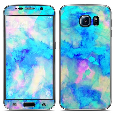 Samsung Galaxy S6 Skin - Electrify Ice Blue