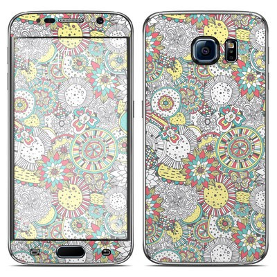Samsung Galaxy S6 Skin - Faded Floral