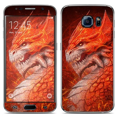 Samsung Galaxy S6 Skin - Flame Dragon