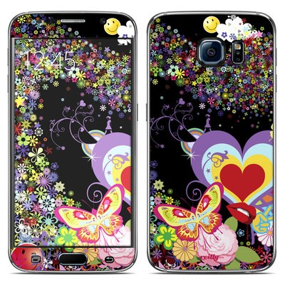 Samsung Galaxy S6 Skin - Flower Cloud