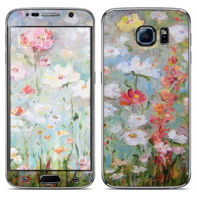 Samsung Galaxy S6 Skin - Flower Blooms