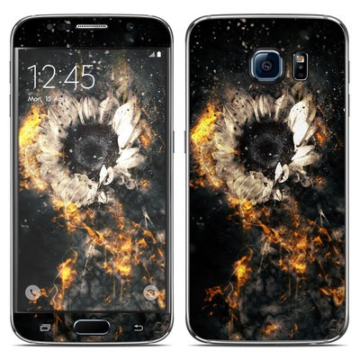 Samsung Galaxy S6 Skin - Flower Fury