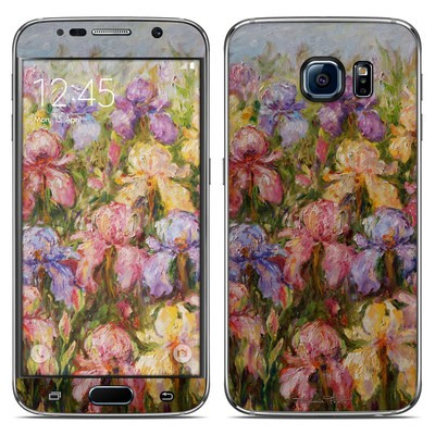 Samsung Galaxy S6 Skin - Field Of Irises
