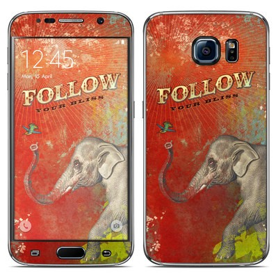 Samsung Galaxy S6 Skin - Follow Your Bliss