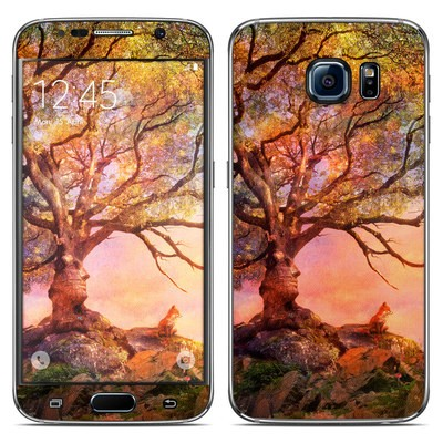 Samsung Galaxy S6 Skin - Fox Sunset