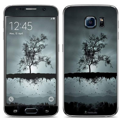 Samsung Galaxy S6 Skin - Flying Tree Black