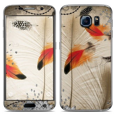 Samsung Galaxy S6 Skin - Feather Dance