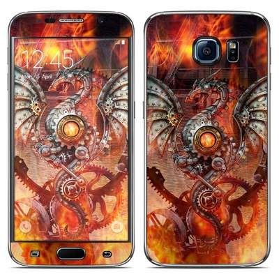 Samsung Galaxy S6 Skin - Furnace Dragon
