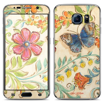 Samsung Galaxy S6 Skin - Garden Scroll