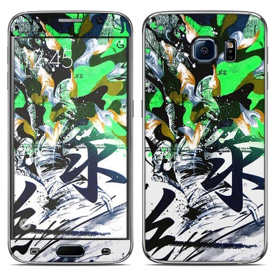 Samsung Galaxy S6 Skin - Green 1