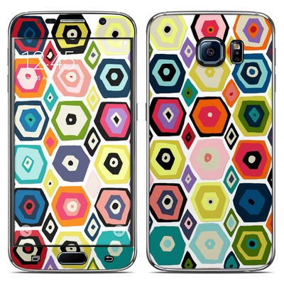 Samsung Galaxy S6 Skin - Hex Diamond