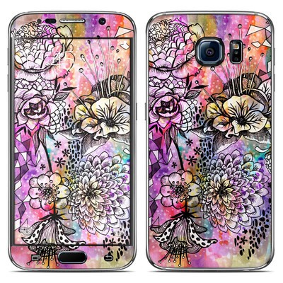 Samsung Galaxy S6 Skin - Hot House Flowers