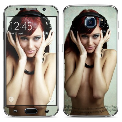 Samsung Galaxy S6 Skin - Headphones