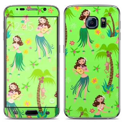 Samsung Galaxy S6 Skin - Hula Honey
