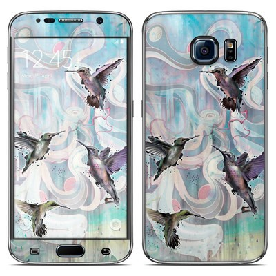 Samsung Galaxy S6 Skin - Hummingbirds