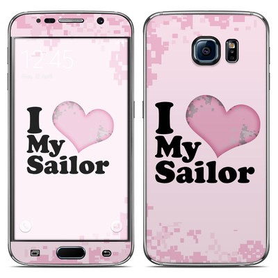 Samsung Galaxy S6 Skin - I Love My Sailor
