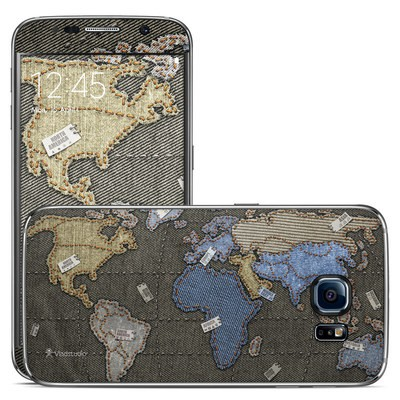 Samsung Galaxy S6 Skin - Jean Map