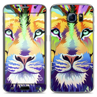 Samsung Galaxy S6 Skin - King of Technicolor