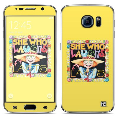 Samsung Galaxy S6 Skin - She Who Laughs