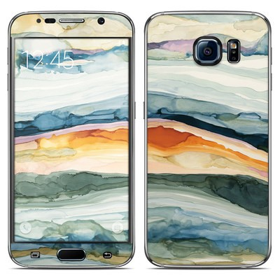 Samsung Galaxy S6 Skin - Layered Earth