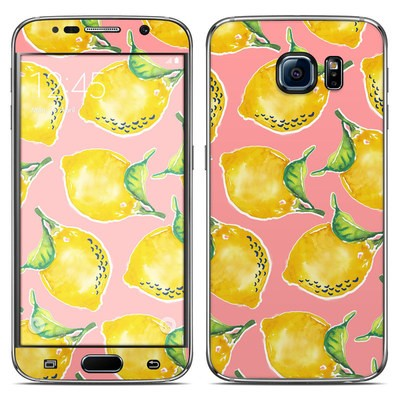 Samsung Galaxy S6 Skin - Lemon