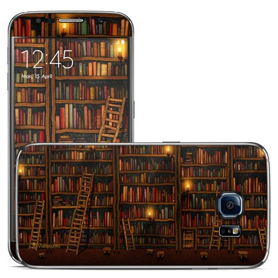 Samsung Galaxy S6 Skin - Library