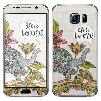 Samsung Galaxy S6 Skin - Life is Beautiful