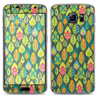 Samsung Galaxy S6 Skin - Little Leaves