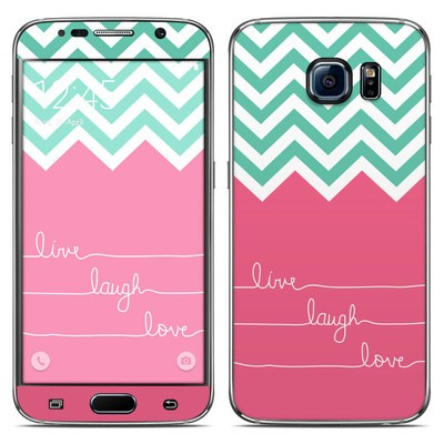 Samsung Galaxy S6 Skin - Live Laugh Love