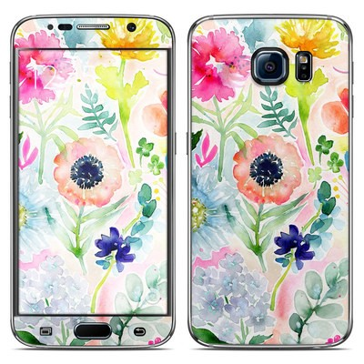 Samsung Galaxy S6 Skin - Loose Flowers