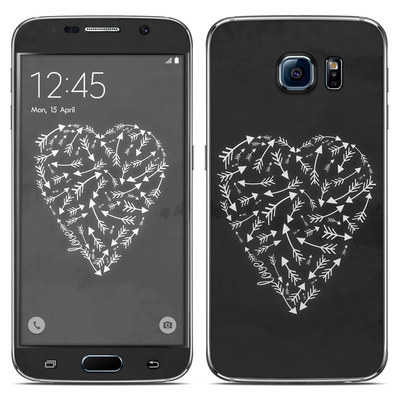 Samsung Galaxy S6 Skin - Love Me Not