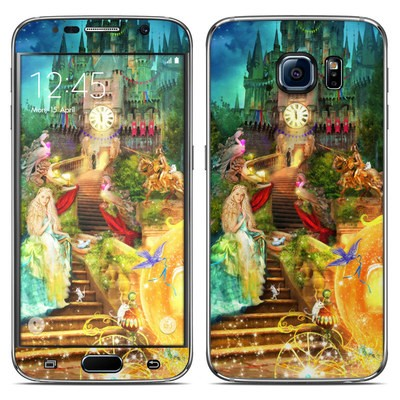 Samsung Galaxy S6 Skin - Midnight Fairytale