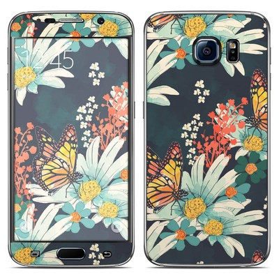 Samsung Galaxy S6 Skin - Monarch Grove
