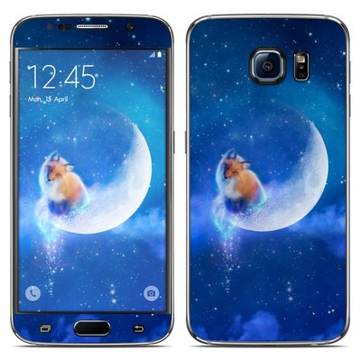 Samsung Galaxy S6 Skin - Moon Fox